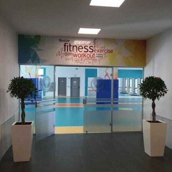 Spor Salonu giriş // Sports Center Entrance