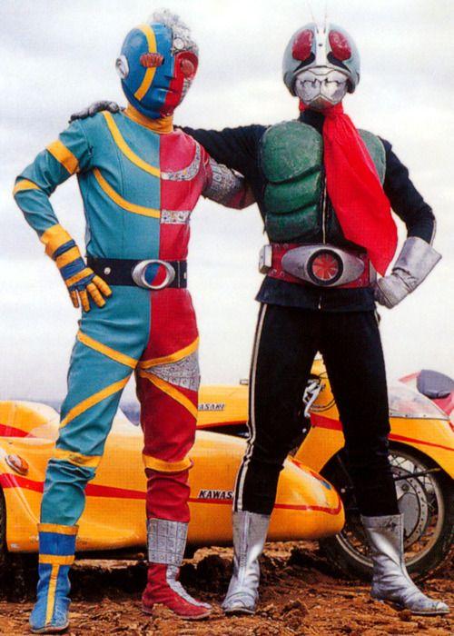 Kikaida and Kamen Rider