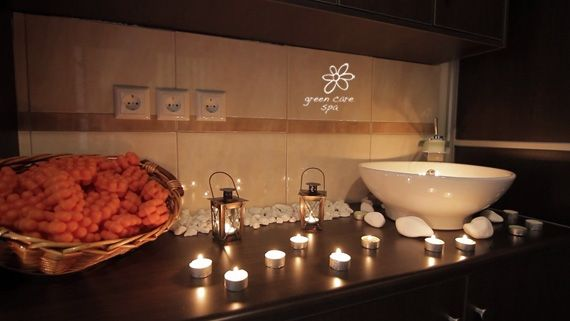 Completely calm and relaxing environment for a stress free mind and body. www.greencarespa.gr