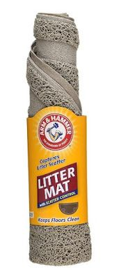 Favored Pets: Arm & Hammer Litter Mat with Scatter Control Revie...