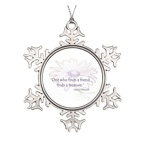 Scandinavian Italian Friendship Proverb Ornament >>> You can find more details by visiting the image link.