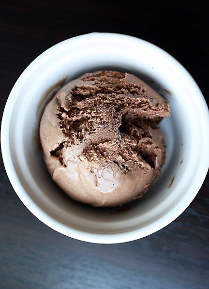 Darkest Chocolate Ice Cream in the World. Must get Jeni's Splendid Ice ...