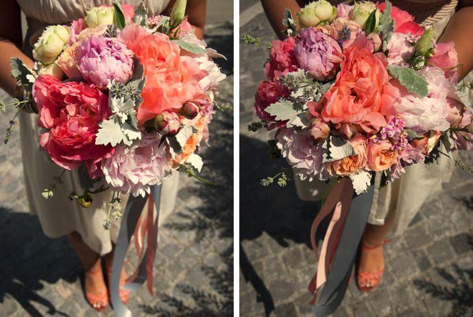 FLÓRA Floral Botanical Atelier / summer/ wedding/ coral