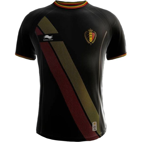 Burrda Belgium 2014 World Cup Away Soccer Jersey