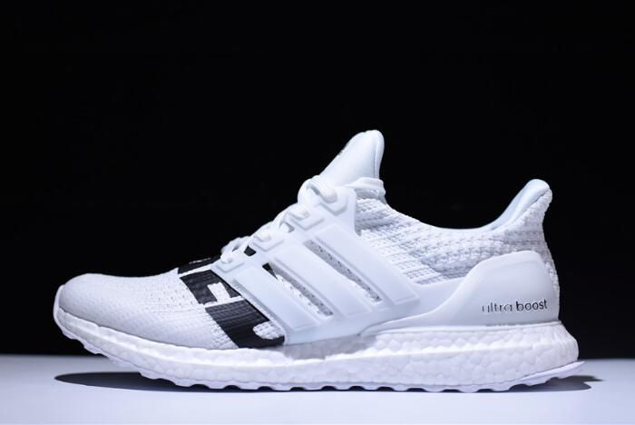 7e6e374189f09 Undefeated x adidas Ultra Boost White Black B22481 Free Shipping