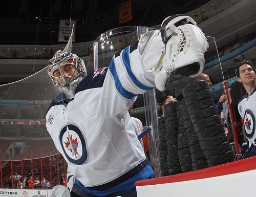 """Can the Jets win with Ondrej Pavelec?"" -- If you don't want him, trade him to the Avalanche: http://hockeygrrls.blogspot.com/2014/01/ondrej-pavelec-for-colorado-avalanche.html"