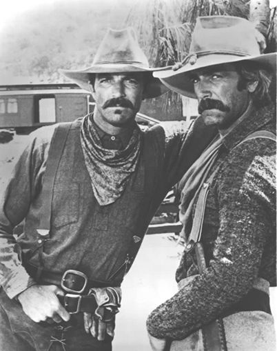 Sam Elliott and Tom Selleck. Mustaches of manly men. And to that I say, indeed!