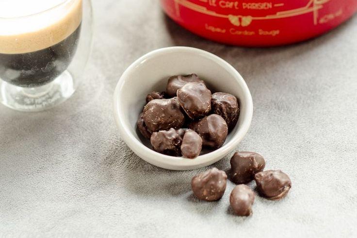 Fruits secs au Grand Marnier, enrobage chocolat