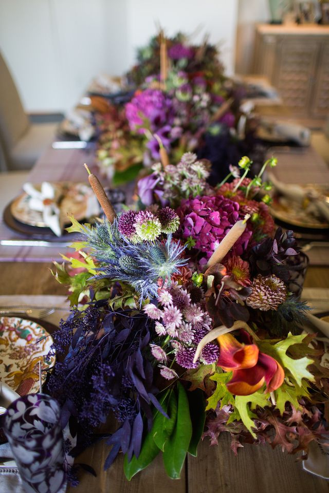 Thanksgiving Tablescape | Krystal Schlegel