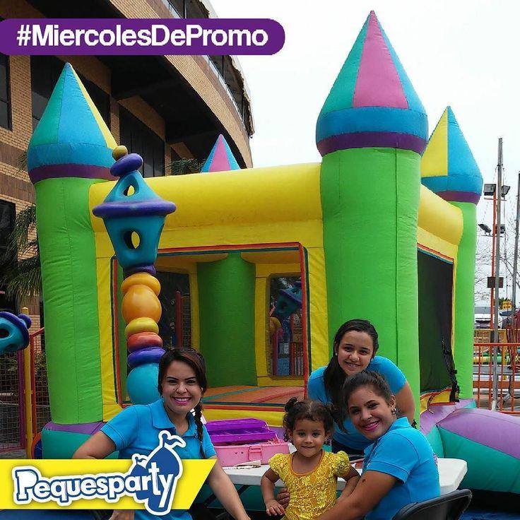 Nuestra promo de febrero sigue vigente para tu peque:  Inflable 3x3 1 hora con Peppa Pig Algodón de azúcar  Contáctanos para reservaciones y presupuesto ofrecemos los mejores precios en #Maracaibo . . . #maracaibo #promo #promomaracaibo #niños #inflables #divertido #fun #kids #celebra #felizcumpleaños #mcbo