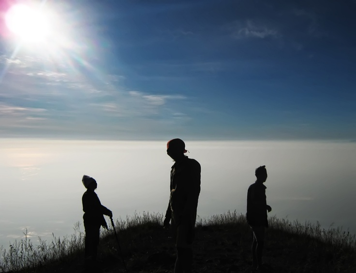 summit Mt. Penanggungan, east Java, Indonesia