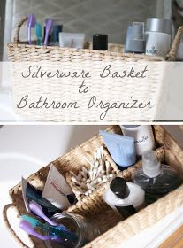 bathroom counter organization pinterest. silverware basket to bathroom counter organizer organization pinterest r