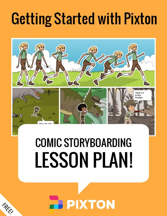 Your students will love writing about WRITING with Pixton comics and storyboards! This FREE lesson plan features a Teacher Guide and themed props. PLUS 3 awesome activities with printable handouts.