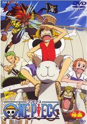 NOVEMBRE-2017. One Piece. La película. DVD ANIMACIÓ ONE.