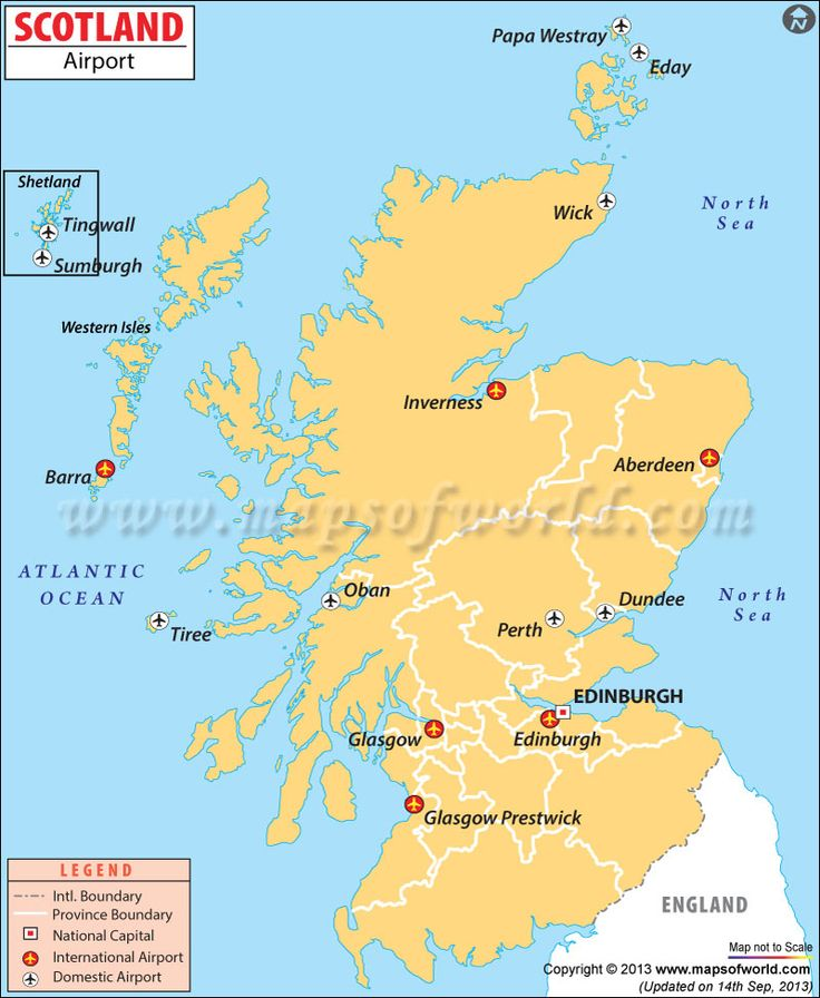 airports in scotland