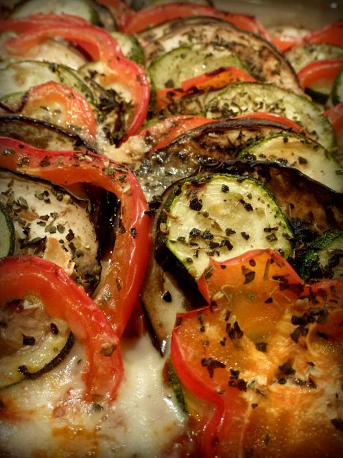 how to cut eggplant for ratatouille