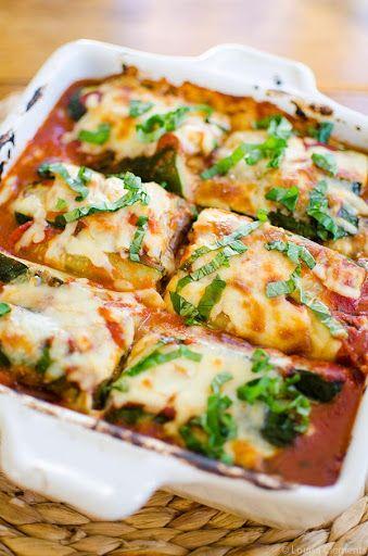 ... Lasagna on Pinterest | Zucchini Lasagna, Zucchini Lasagna Rolls and