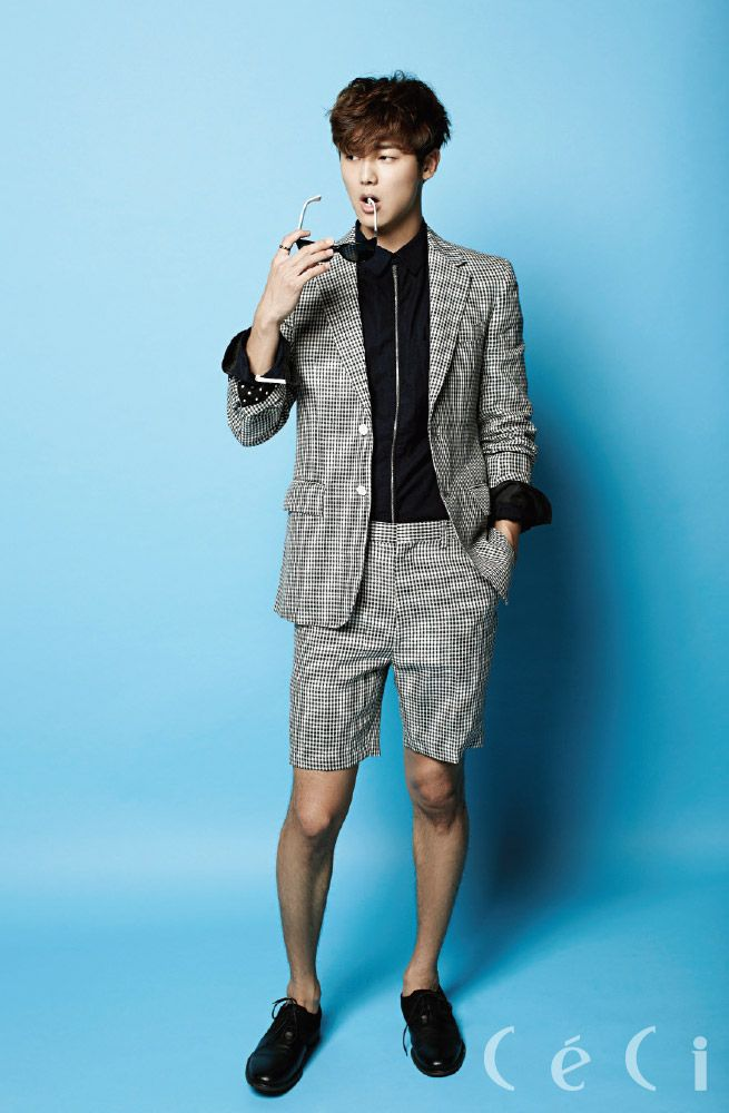 C.N Blue Min Hyuk - Ceci Magazine August Issue '14