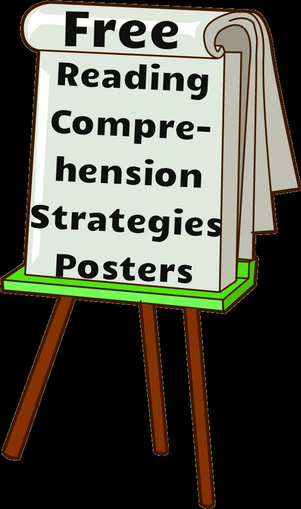 Free Reading Comprehension Strategies Posters! There are ten posters in all and are available in English as well as Spanish. Download them for free!