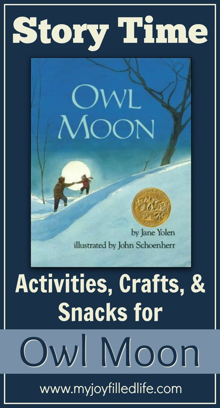 Owl Moon - Story Time Activities