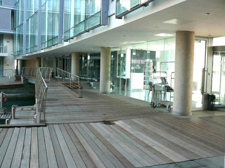 Wooden Deck Weathered