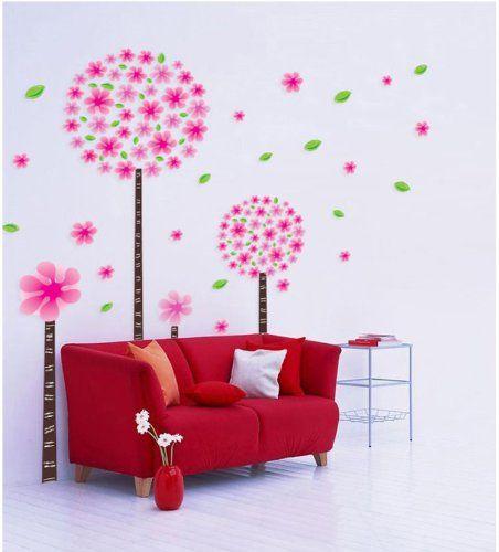 YYone Pinke Dandelion Flower Tree Removable PVC Nursery Room Wall Decals Sticker YYone http://www.amazon.com/dp/B00IVH3J4S/ref=cm_sw_r_pi_dp_wFjXub0NPRQ9Q