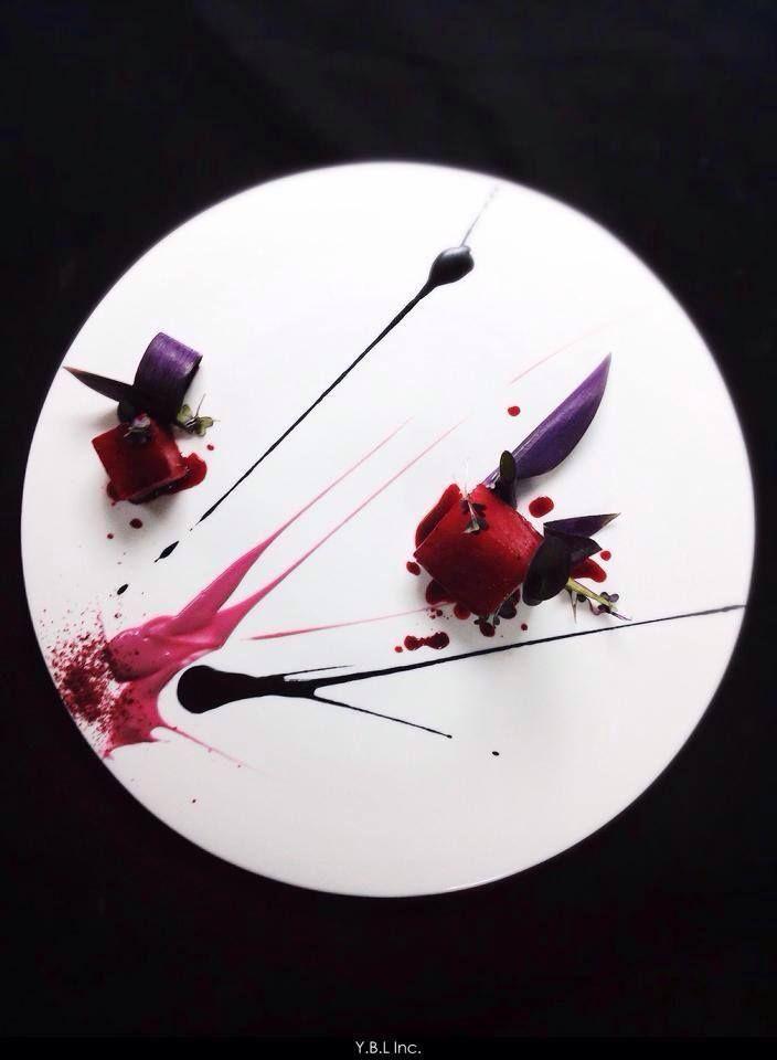Yann Bernard Lejard - The ChefsTalk Project assiette culinaire #gastronomie #culinaire C'est de l'art!