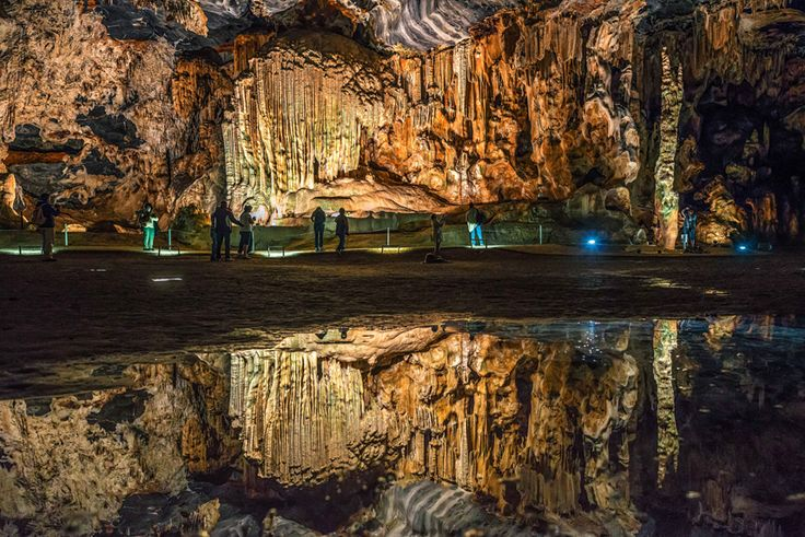 The Cango Caves in the Western Cape Province of South Africa
