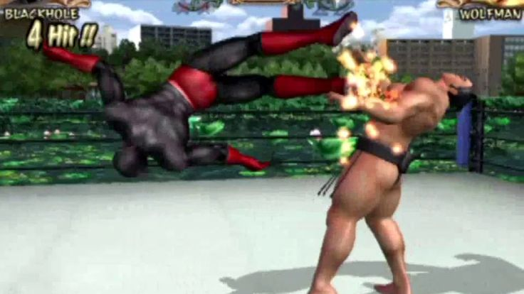Kinnikuman Muscle Grand Prix 2 (PlayStation 2) Arcade as Blackhole