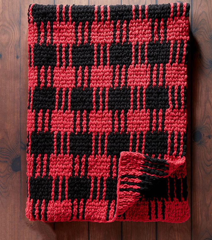 How To Make A Crochet Buffalo Plaid Afghannull
