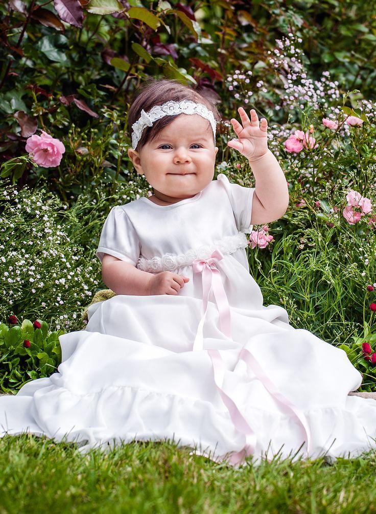 Dåpskjole Rose fra Grace of Sweden.
