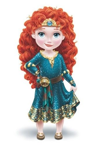 Image result for disney princess baby merida