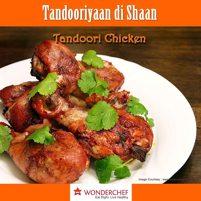 Tandoori Chicken - Simply the best Chicken Starter by Chef Sanjeev Kapoor for all Tandoori Lovers.