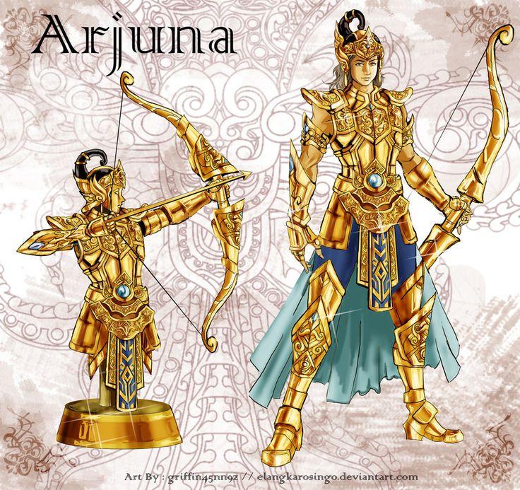 The Golden Armor of Arjuna by elangkarosingo on DeviantArt