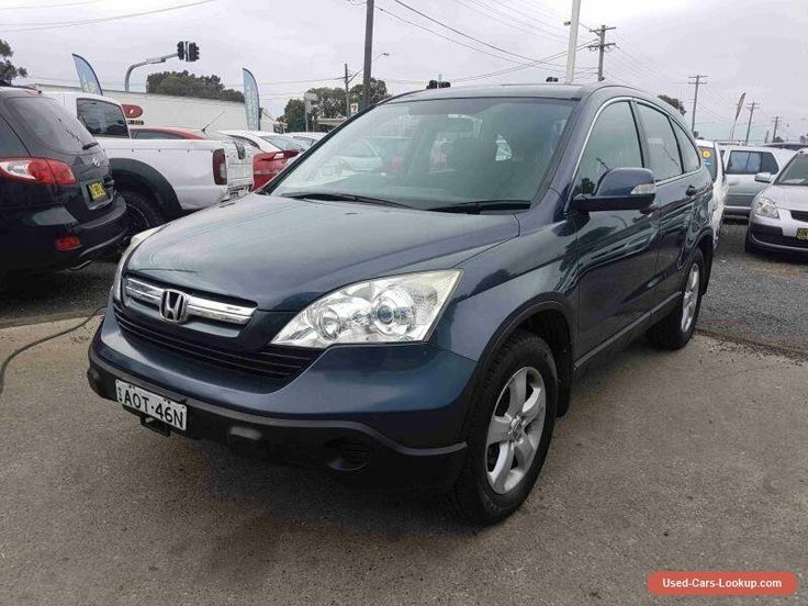 2007 Honda CR-V 2005 Upgrade (4x4) Blue Automatic 5sp A Wagon #honda #crv #forsale #australia