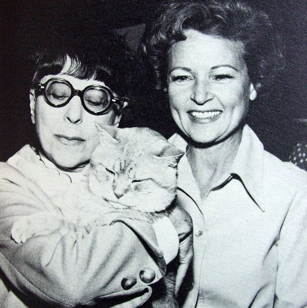 edith head (& betty white).  Edith Head was the most fabulous fashion designer in Hollywood; she was fantastic!!!!!!!!!!!!!!!!