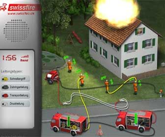 Swiss Firefighter Game and more games