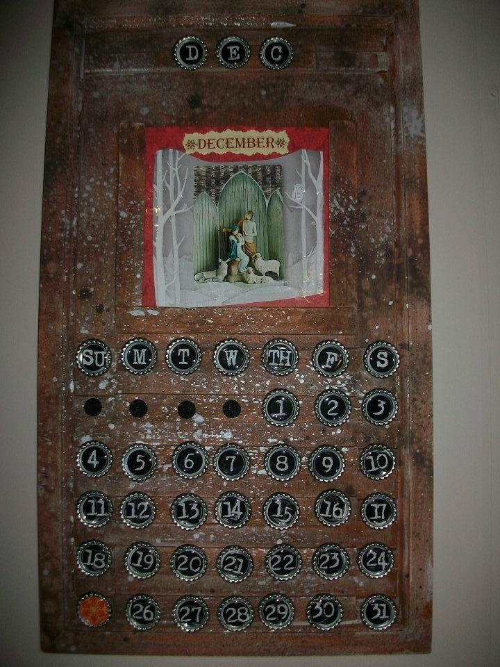 167 best Calendars images on Pinterest Bricolage, Creative ideas - how to make a perpetual calendar