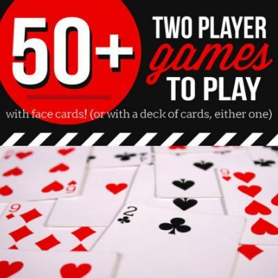 Over 50 Video games for two! And all you want is a deck of playing cards. Good for date night time....  Learn even more at the photo