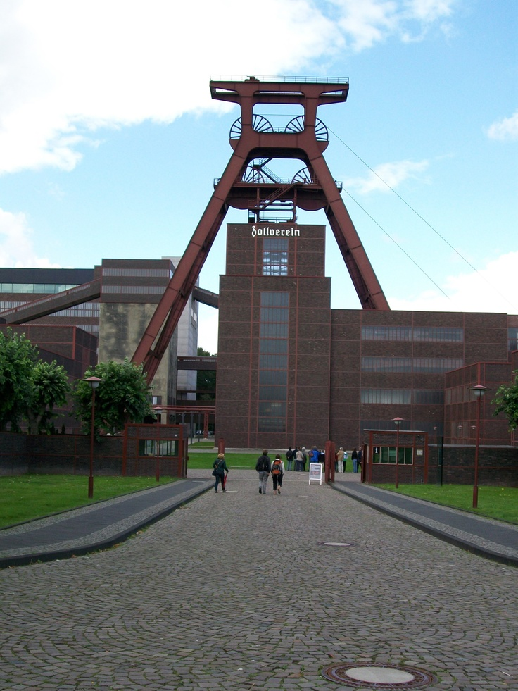 Zeche Zollverein, Essen, Germany.  Coal plant re-imagined into mixed use cultural center.