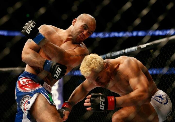 Josh Koscheck knocked out by Robbie Lawler