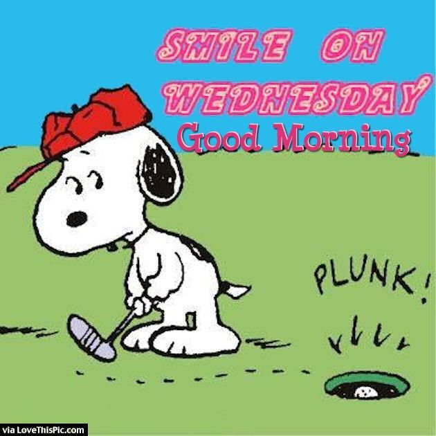 Smile On Wednesday Good Morning Snoopy Quote good morning wednesday hump day wednesday quotes good morning quotes happy…