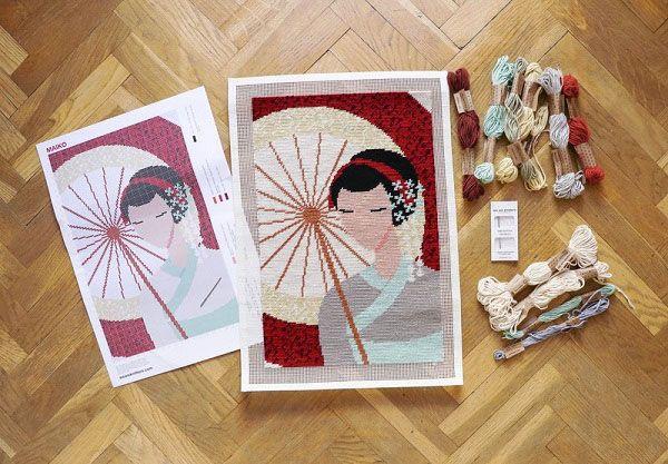 Stich für Stich nach Asien – We Are Knitters präsentiert beliebte Motive aus Japan