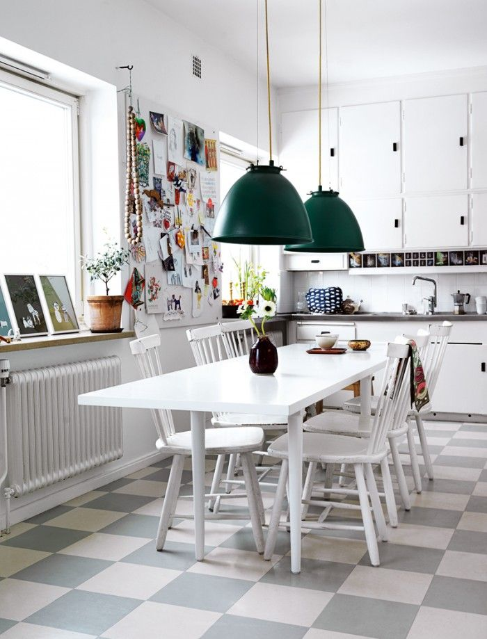 Swedish#retro#kök#kitchen#elledecoration