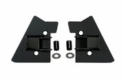 Jeep Mirror relocation brackets for Jeep Wrangler. Available in Black or Stainless.