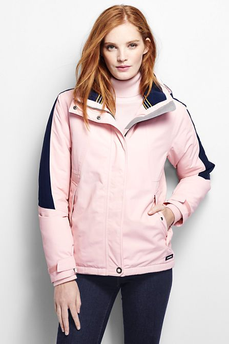 Women S Hooded Squall Jacket From Lands End Style