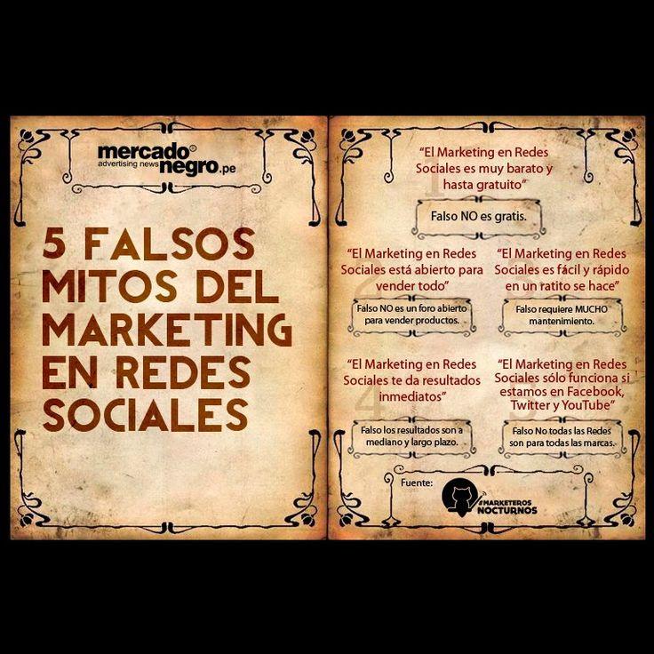 5 Falsos Mitos del Marketing en Redes Sociales