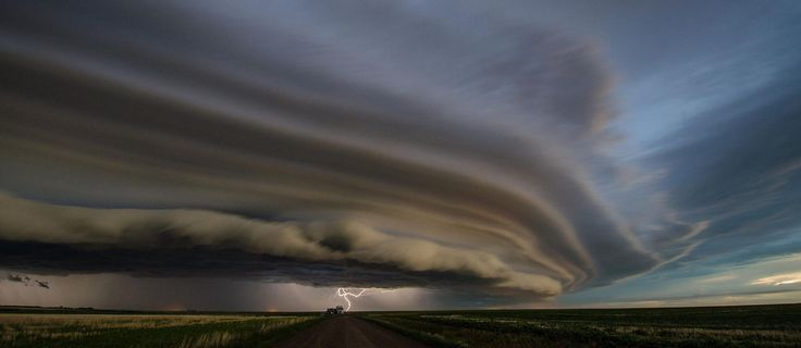 Storm approaching Swift Current, SK on June 24, 2013.