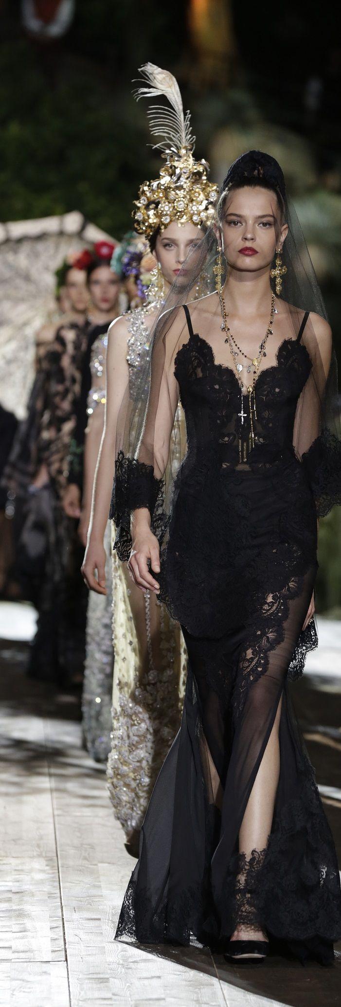 Dolce & Gabbana Alta Moda Fall 2015   House of Beccaria~