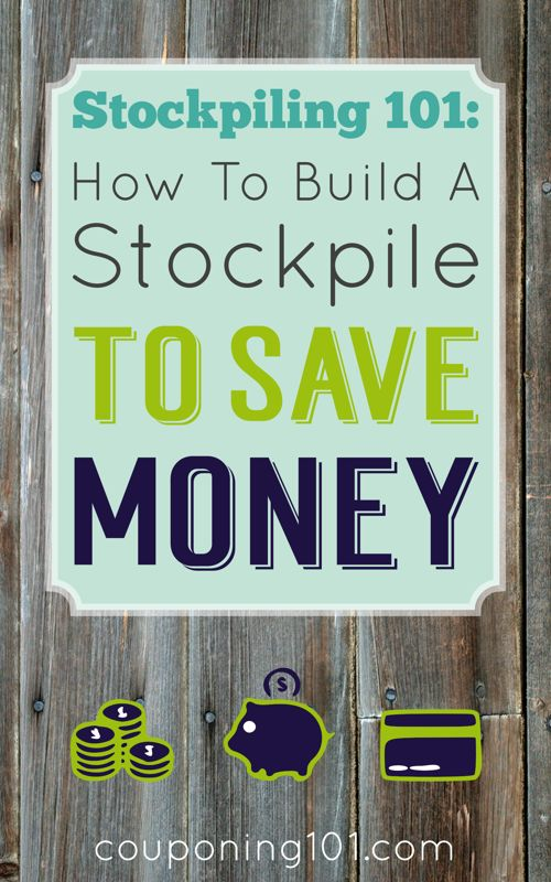 If you build a stockpile and carefully maintain it you can save a lot of money and always have your favorite products on hand! These are realistic tips and strategies for stockpiling to save money.